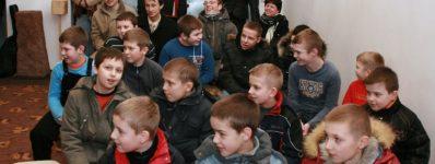 2009.12.27 Spotkanie opłatkowe bielanek scholanek iministrantów