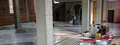 2015.03 ogrzewanie podłogowe wkościele