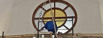 2020.05 montaż okna nadchórem